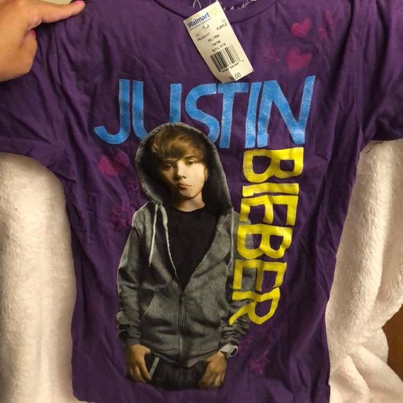fd60b1216131 Shirts & Tops | 2 Kids Justin Bieber Tshirts | Poshmark